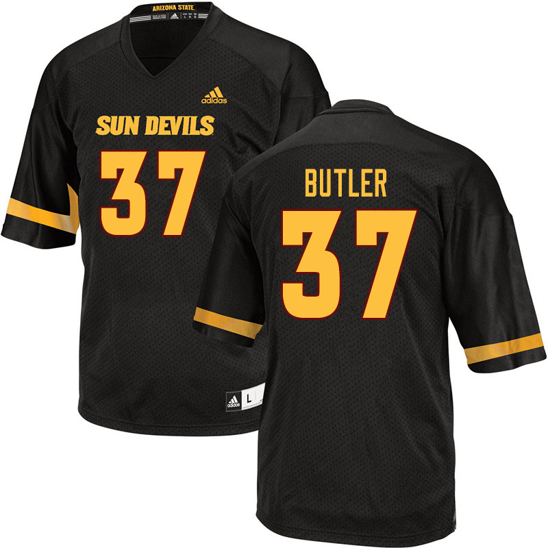 Men #37 Darien Butler Arizona State Sun Devils College Football Jerseys Sale-Black